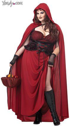 Little Red Riding Hood nemico. Misura adulto Costume Wolf