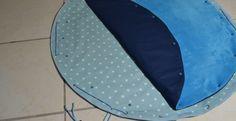 Tapis de jeu nomade imperméable et lavable Diy Rangement, Couture Sewing, Couture Bb, Diy For Kids, Outdoor Blanket, Furniture, Moment, Home Decor, Ranger