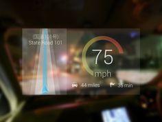 Google Glass - Speedometer App (WIP)
