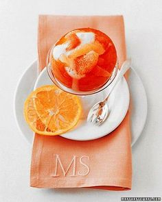 Grapefruit Mimosas Recipe - Perfect for a holiday brunch
