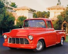 Your home is the place where you express your moods and taste. This decorative hot red Chevy pickup truck art print poster adds a charming ambience to your home decor. It would be a perfect addition for any teen ager boy bedroom. Hurry up and order this poster for its excellent quality with high degree of color accuracy.
