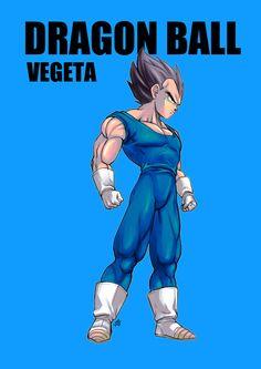 Dragon Ball - Vegeta by ume
