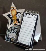 Claudia's Karteria: DT FwSam Challenge - Little Star Little Star, Bookends, Calendar, Blog, Challenges, Stars, Crafts, Decor, Boxes