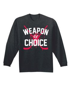Look what I found on #zulily! Heather Charcoal 'Weapon Of Choice' Tee by Airwaves #zulilyfinds