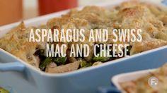 Asparagus and Swiss Mac & Cheese