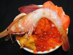 たっぷり具沢山!大人気の「海鮮丼」¥2300