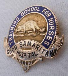 Nursing School Graduation, Graduate School, Nursing Pins, Medical History, Red Cross, Nurses, Portland, Badges