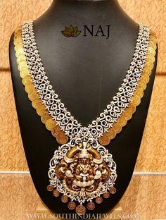 Diamond Coin Necklace From NAJ