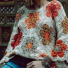 """Artesanato Nuvem Rosa☁️☁️ on Instagram: """"Essa blusa ficou espetacular! 💕 . 💝 Descubra Como Milhares de Pessoas Estão Fazendo Incríveis Peças de Crochê  Apenas Seguindo Gráficos. 👗…"""""""