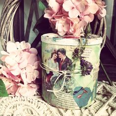 Box-romance, Amelia Bachmann Kane homemade creation