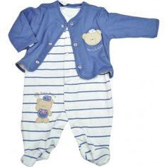 Macacão bebê menino com casaco ursinhos em suedine Mini & Kids. Moda bebê, Moda Infantil, Roupas de Bebê, roupas Infantis, Fashion Baby, Fashion Kids, bebê roupas, roupas de bebê. www.boobebe.com.br