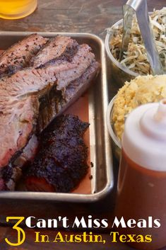 All the can't miss places to eat in Austin. From BBQ to Breakfast Tacos you must eat destinations in Austin, Texas.