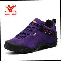 54.98$  Buy here - http://aliwy5.worldwells.pw/go.php?t=32786499299 - XIANGGUAN waterproof fishing camping rubber sole shoes Nubuck slip-resistant Hiking Shoes Travelling Climbing men outdoor shoes 54.98$