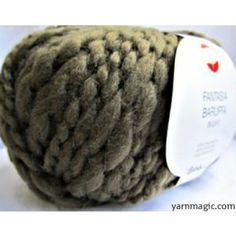 Verde Fantasia Pure New Wool Bulky Yarn
