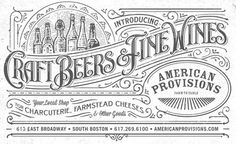Intricate Detail / AMERICAN PROVISIONS