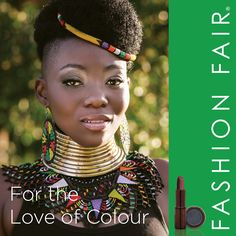 Fashion Fair, the beauty and make-up brand that's poised and prepared to be the preferred brand of choice for an ever-growing multi-cultural world, is not available at Beauty Hacks, Crochet Necklace, Make Up, Culture, Fashion, Crochet Collar, Maquillaje, Moda, Beauty Tricks