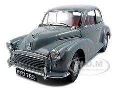 1956 MORRIS MINOR 1000 SALOON GRAY 1/12 DIECAST CAR MODEL BY SUNSTAR