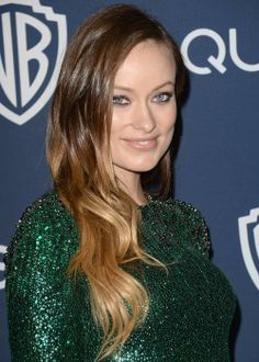 Ombre hair: Olivia Wilde