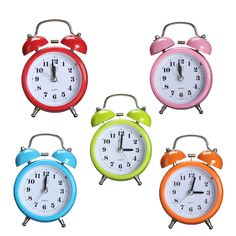 Cheap double bell alarm clock, Buy Quality bell alarm clock quartz directly from China alarm clock Suppliers: Charminer Portable Fashion Classic Silent Double Bell Alarm Clock Quartz Movement Bedside Night Light Green Blue Red Pink Yellow