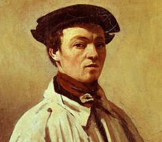 Self portrait of Jean Baptiste Camille Corot