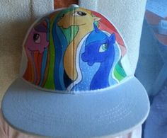 my little pony hats for sale My Little Pony Hand painted hats