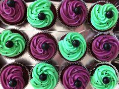 Hulk cupcakes :-)