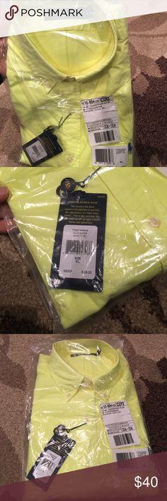 Men's button down Highlighter yellow Ralph Lauren button down Ralph Lauren Shirts Dress Shirts