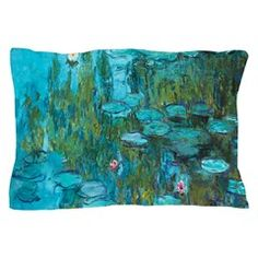 Water Lilies by Monet Pillow Case