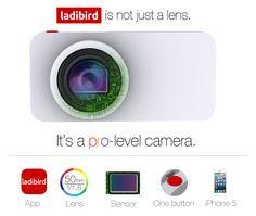 케이스 장착만으로 아이폰5s 카메라를 50mm F1.8 렌즈로 업그레이드