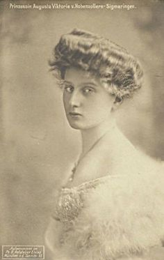 Prinzessin Auguste Viktoria von Hohenzollern, Queen of Portugal in exile by Miss Mertens, via Flickr