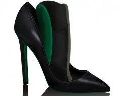 heels to flats in 2 seconds flat.