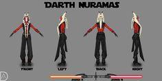 Star Wars OC - Darth Nuramas by TRDaz.deviantart.com on @DeviantArt