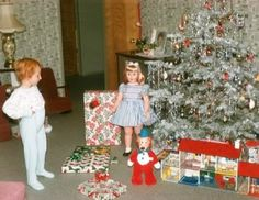 I had the huckleberry hound stuffed doll! Christmas morning 1959 vintage photo - Central Valley, CA Old Time Christmas, Old Fashioned Christmas, Christmas Past, Christmas Morning, All Things Christmas, Christmas Holidays, Christmas Decorations, Vintage Decorations, Christmas Scenes