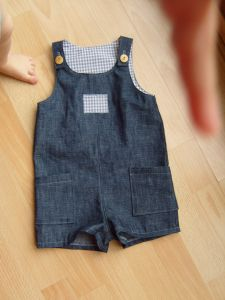 Sewing for Sprout – boy's romper | Brussels Sprout