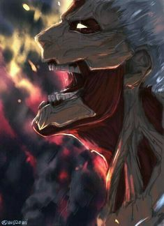 Best Attack On Titan - Anime, Cartoon Attack On Titan Episodes, Attack On Titan Fanart, Attack Titan, Logo Anime, Anime Harem, Titan Armor, Manga Anime, Kurama Naruto, Humanoid Creatures