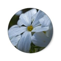 Flower Power Round Sticker #gift #zazzle #Christmas #photogift