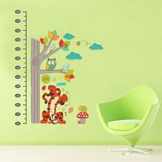 Winnie The Pooh Height Chart Wall Decals – the treasure thrift