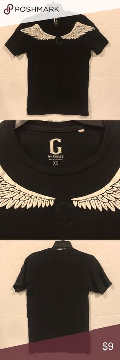 G by GUESS Black Shirt sz XS Shirt in good condition  Made in Guatemala  100% Cotton G by Guess Shirts Tees - Short Sleeve