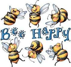 Gildan Long Sleeve T-shirt Bee Be Happy Bees Decorative Country Bee Quotes, Bee Pictures, I Love Bees, Bee Cards, Bee Theme, Save The Bees, Beeswax Candles, Bee Happy, Bees Knees