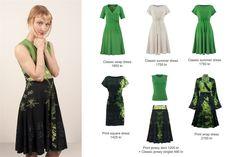 Antrekk: kjoler og skjørt