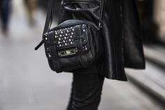 In love #bag #leather #streetstyle