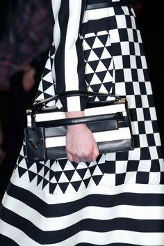 Geometry still going strong at Valentino - Fall 2015