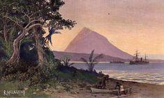 Hafen von Saluafata auf Upolu  Date 1908