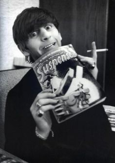 Ringo Starr- vintage comic readers