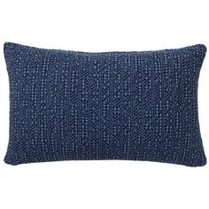 Pottery Barn Honeycomb Lumbar Pillow Cover ($40) ❤ liked on Polyvore featuring home, home decor, throw pillows, textured throw pillows, cotton throw pillows, pottery barn and pottery barn throw pillows