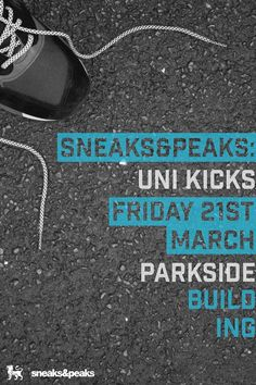 Poster for Sneaks&Peaks project.     Be.net/jakelockley