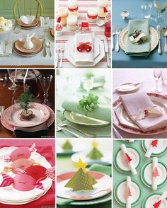 Tastefully Entertaining | Event Ideas & Inspiration: Christmas Table Details