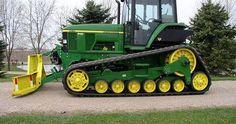 John Deere tractor dozer by Patrick Stankiewicz
