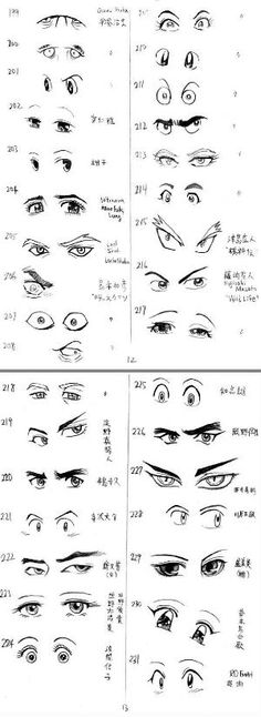 12 Useful Eyes Drawing References and Tutorials | Welcome to Freaksigner by janet
