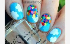If you're looking for the best Disney manicure inspiration, these nail art ideas are for you. From princesses to mouse ears, see the cutest Disney designs. Nail Art Disney, Simple Disney Nails, Disney Manicure, Disney Acrylic Nails, Disney Nail Designs, Disney Princess Nails, Cute Acrylic Nails, Cute Nail Designs, Simple Nails